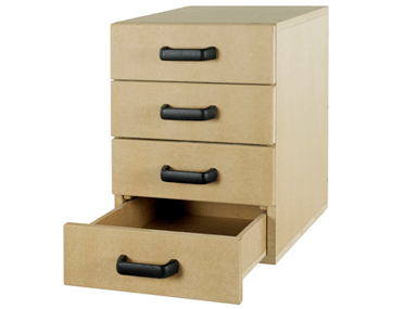 Left Fitted – 4 Drawer