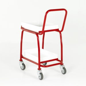 BT108 Basket Trolleys - 2 tier