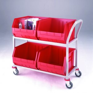 CT29 Store and Distribution Trolley 4 x Tote