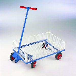 Mini Basket Turntable Trailer