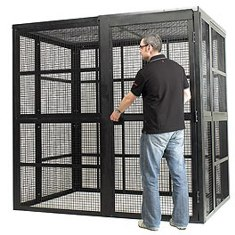 Security and Storage Cages