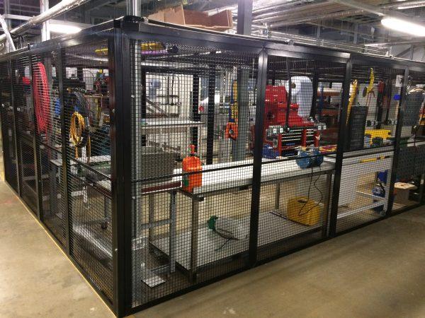 Indoor High Security Cage