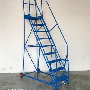 TekA Step TS35 Heavy Duty Mobile safety steps - 9 Tread