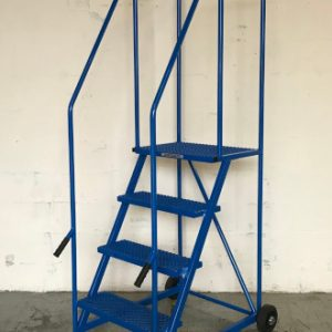 TekA Step TS38 Lift and Push Mobile Safety Steps - 4 Tread - 1302mm High