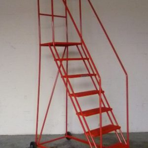 TekA Step TS44A Foot Lock Mobile Safety Steps - 7 Tread - 1778mm High