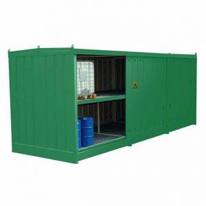 96 Drum or IBC Bunded Storage