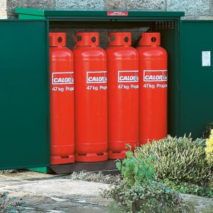 Calor Approved Gas Storage Cage - 4 x 47KG Propane Cage
