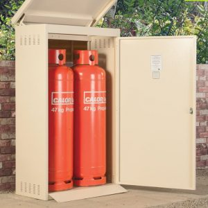Calor Approved Gas Storage Cage - 2 x 47KG Propane Cage