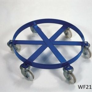 WF21120 Painted Heavy Duty Drum Dolly