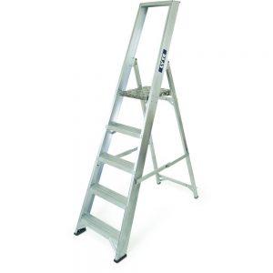 NESP5 5 tread industrial platform ladder
