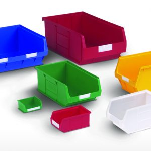 Plastic Storage Bins and Containers