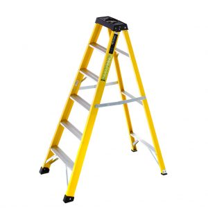 Fibreglass Swing Back Step Ladder