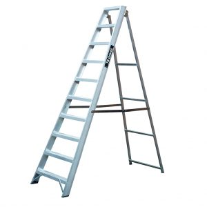 Heavy Duty Professional Awing Back Step Ladders