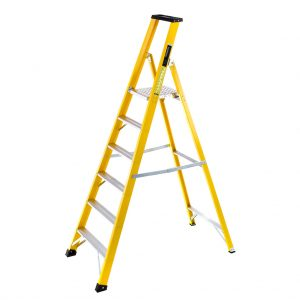 Fibreglass Platform Step Ladder