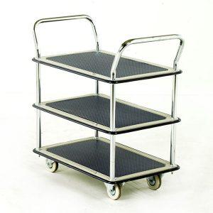 3 tier industrial trolley