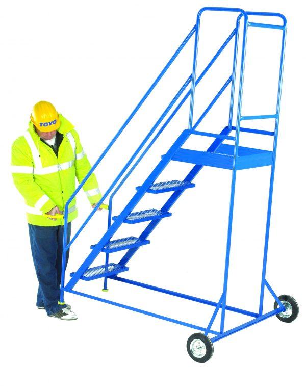 Tilt and Go Step ladders