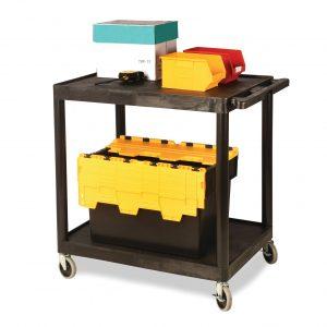 Large utility tray cart