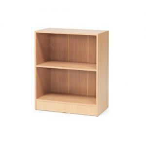 Beech Flexus 2 Shelf Bookcase