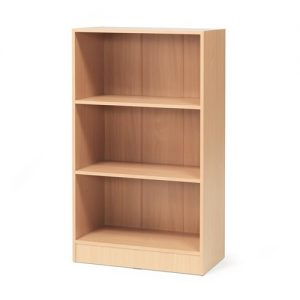 Beech Flexus 3 Shelf Bookcase