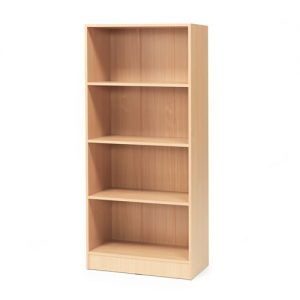 Beech Flexus 4 Shelf Bookcase