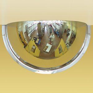 Panoramic 180 security mirror