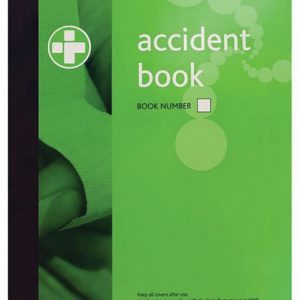 A4 Accident report book
