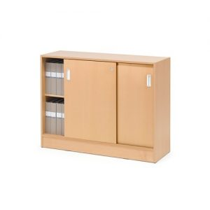 Beech Flexus 925mm High Cabinet
