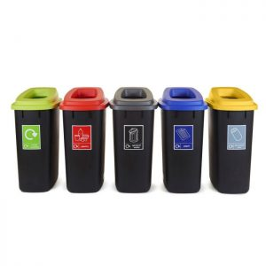 Open Top recycling Bins - 90 litres