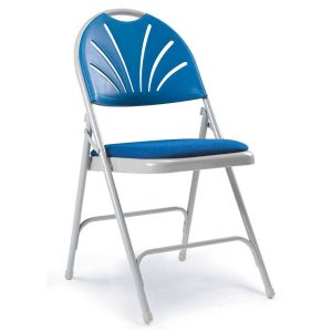 2600 Series Upholstered Conference Chair- Blue