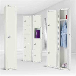 Elite All White Lockers