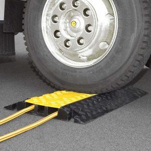 Modular cable hose ramps