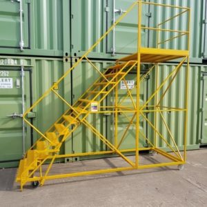 shipping container access steps