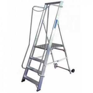 Extra Wide Aluminium Step ladder